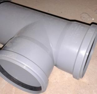 Тройник для нар. канализации 110x110x87,5