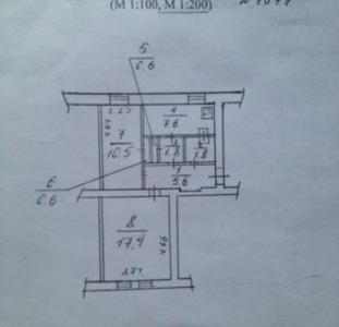 Продается 2-комнатная квартира на красной линии на пр.Героев Сталинграда 57.