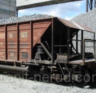 Щебень вагонами с доставкой по Украине