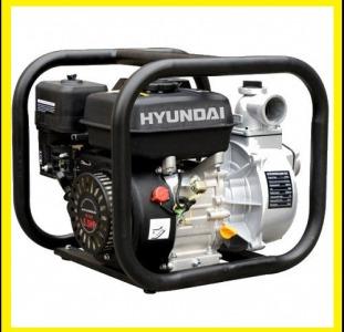 Купить мотопомпу, мотопомпа  для воды. Мотопомпа Hyundai
