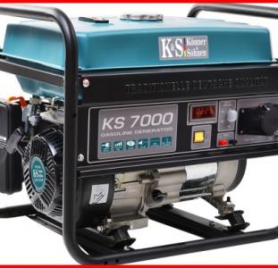 Бензиновый генератор Konner&Sohnen. Купить генератор бензиновый