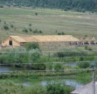 Ферма деревянная, построенная по европейскому проекту