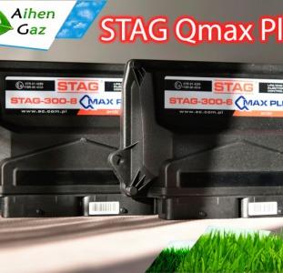 Блок управления ГБО Stag-4 семейства Q-Max plus для 5-8 цилиндровых инжекторных двигателей