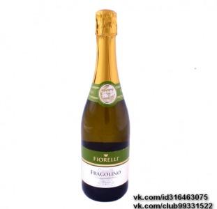 Продам оптом и в розницу алкоголь, Итальянское вино Фраголино Фиорели (Fragolino Fiorelli)