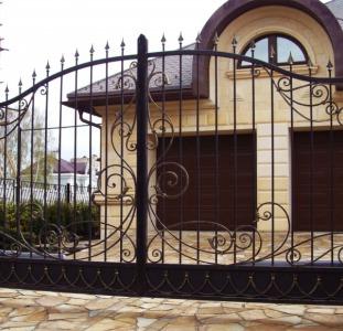 Решетки, ворота, калитки, лестницы и др. металлоконструкции