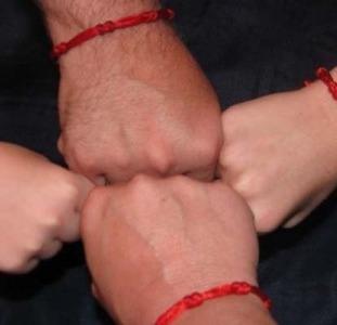 Красная нить из Израиля. Красная нить на запястье. Купить красную нить.