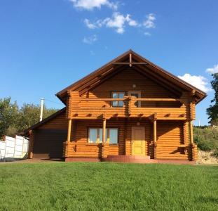 Продаю комфортный деревянный домик в красивой местности, 30 мин. от Киева, Гусачевка