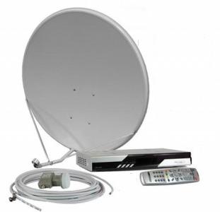 Купить установить настроить недорого спутниковая антенна в Киеве