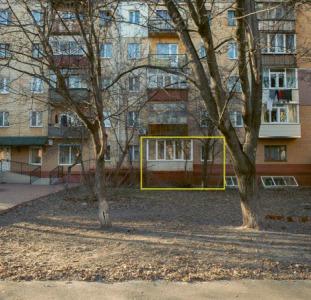 Однокомнатная квартира под офис, магазин Центр Прогресс, 30 кв. м.