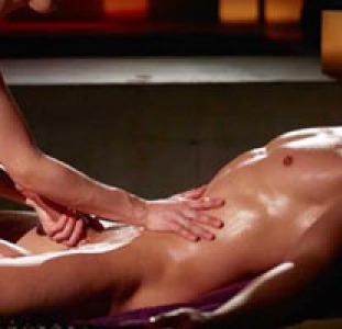 Профессиональный массаж члена и мужской точки G в 4 руки