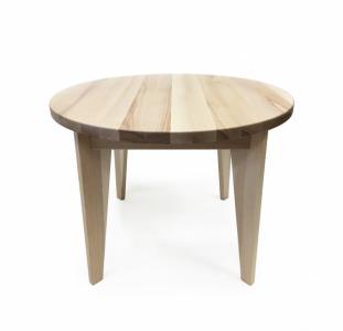 Деревянный круглый обеденный стол