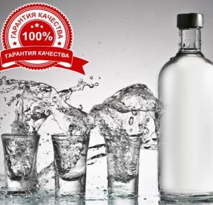 В НАЛИЧИИ! ЛУЧШАЯ ЦЕНА - Спирт Люкс 96,6%, Водка 40%.