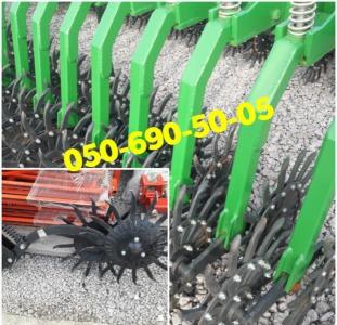Борона мотыга БМР применяется в сельском хозяйстве для до- и послевсходового боронования зерновых, т