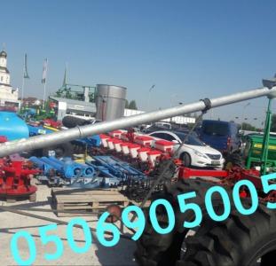 Шнековый зернометатель передвижной Kul-met. Доставка по всей Украине