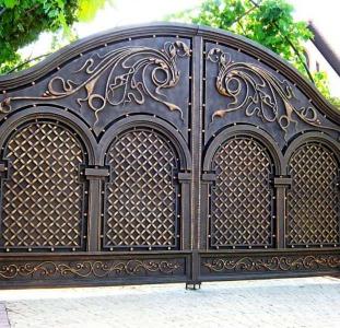 Металлические ворота, металлические вороты, ворота распашные металлические