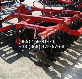 Сельхоз. техника Pallada 2400А(-01) pallada 2400 pallada С 2014 г. начат выпуск борон модели PALLADA