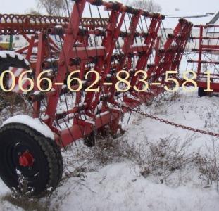 Лира ЗПБ 15 Борона пружинная гидрофицированная Б/У