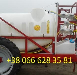ОП- 2000/2500 Продаю причіпний обприскувач Polmark 2000/2500 л.