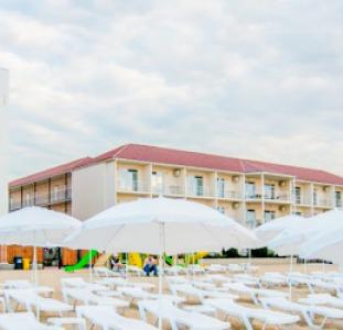Отдых Отель Афродита в Затоке - восхитительный вид на Черное море.