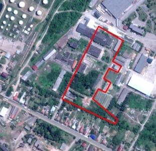 Виробничий об'єкт  м. Мукачево. Комплекс будівель з комунікаціями. Від власника.