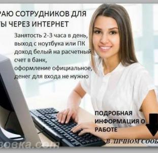 Оператор в интернет-магазин