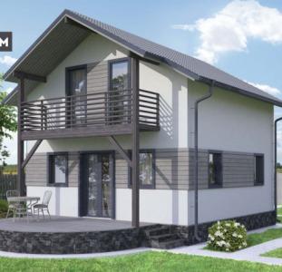 Дом по проекту «Ак-Кая», 98 м² в Жихаре