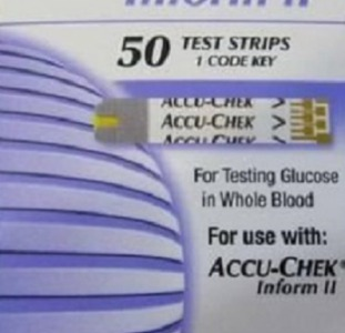 Тест полоски Accu Chek для глюкометра. Купить Тест-полоски Accu-Chek Inform II в Украине