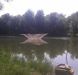 Подъемник (паук) рыболовный