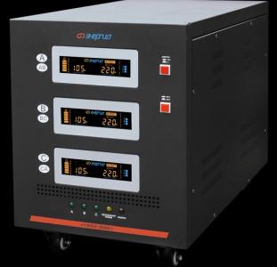 Трёхфазный стабилизатор напряжения Энергия Hybrid 30000/3