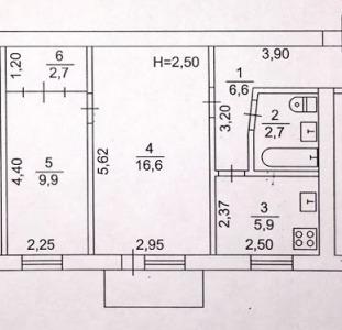 Ул.Полтавский Шлях 126.Уютная двухкомнатная квартира.Общая площадь 45 м.кв.,жилая 27,и кухня 6 метро