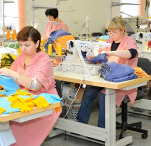 Требуются швеи на швейную фабрику