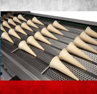 Разнорабочие Изготовление вафельных стаканчиков для мороженного в Чехии