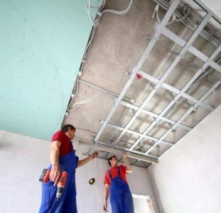 Выполняем монтаж гипсокартона. Стены, потолки.