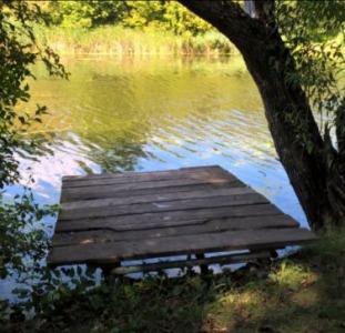 Участок с озером на берегу р. Рось Киевская обл. Богуславский р-н.