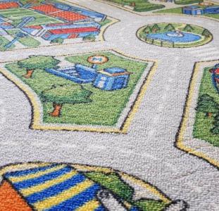 Детский ковролин Мегаполис. Ковровое покрытие