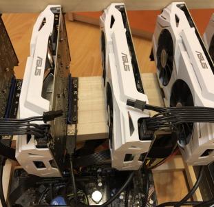 Майнинг ферма 6x Asus GTX1060 3GB В наличии! Гарантия!