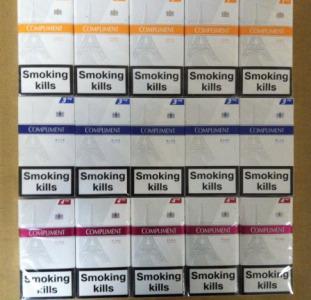 Продам оптом сигареты Compliment slims 1, 3, 4