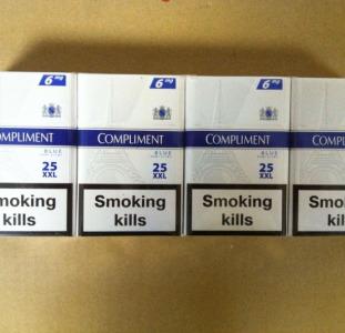 Продам оптом сигареты Compliment blue-6 mg