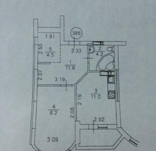 Продам 1-но комнатную квартиру ЖК Східна Брама