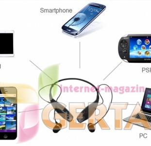 Bluetooth наушники + гарнитура копия LG Ton Pro+