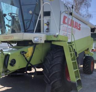 Свежепривезенный комбайн зерноуборочный Claas Lexion 460 .регист. 2000г