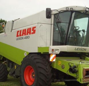 Комбайн зерноуборочный Claas Lexion 480 Год выпуска: 2003