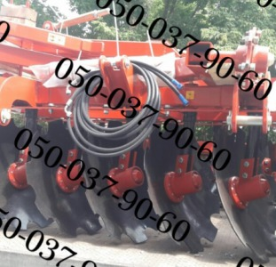 Pallada 3200-01 Паллада 3,2 полуприцепная дисковая борона+Шлейф-каток(диски 660мм) Полуприцепная зав