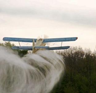 Услуги авиатехники по обработке полей