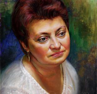 Портрет маслом на заказ, заказать портрет маслом в Киеве, портрет маслом по фотографии Киев, картина маслом на заказ