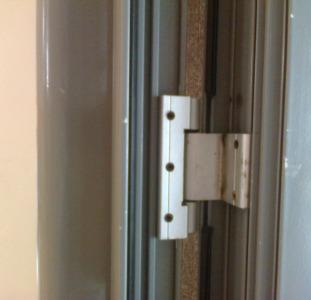 Петли S94 для алюминиевых дверей Киев, петли для профиля Saray (Турция)