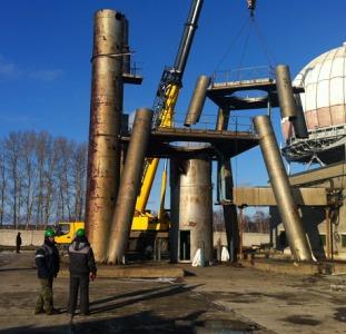 Демонтаж промышленных объектов,  оборудования,  спецтехни