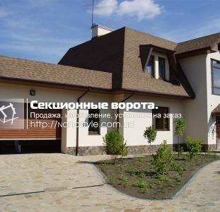 Секционные ворота Киев, гаражные, промышленные, панорамные и вентиляционные на заказ.