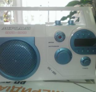 Приемник радиовещательный «МЕРИДИАН РП-271»