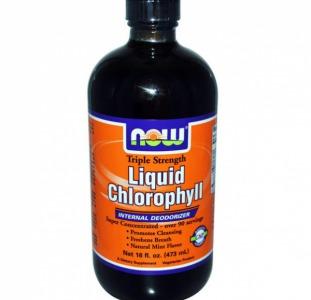 Хлорофилл Жидкий Liquid Chlorophyll NOW Foods в Одессе
